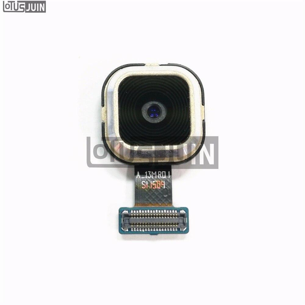 1 Uds trasera parte trasera del módulo de la cámara para Samsung Galaxy A5 A500 A500F A7 A700 A700F piezas de repuesto