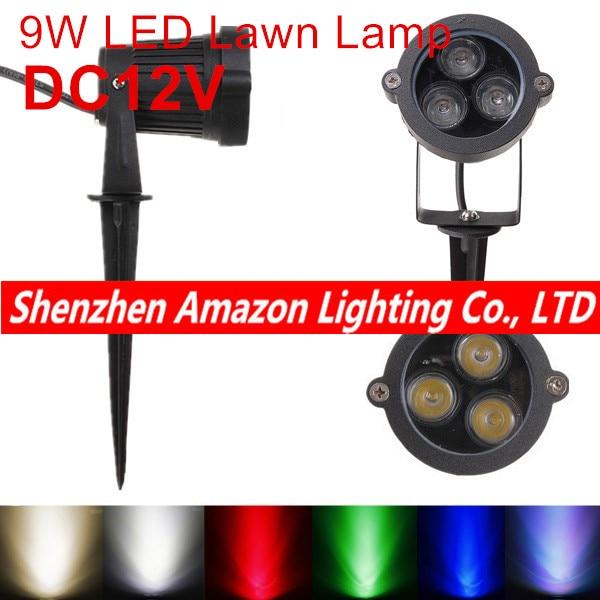 luz de led profissional para jardim lampada de inundacao ip65 a prova dagua 6w area