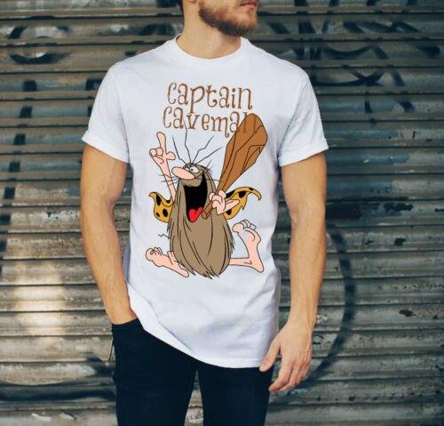 Camiseta Capitán Cavernícola fiesta happyland, regalo de Londres, Reino Unido, Free2019 marca de moda 100% algodón cuello redondo T -s