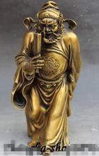 "12 ""Chinese Fengshui Brons Stand Zhong Kui ChungKuel Vangst Duivel God Standbeeld"