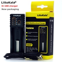 Liitokala lii100 chargeur 3.7 V 18650 26650 18500 piles au Lithium cylindriques, tel 1.2 V AA AAA NiMH chargeur de batterie