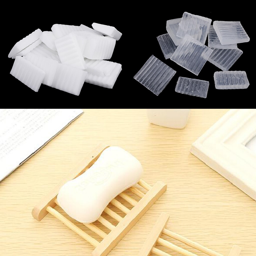 1000g Natural Pure Clear White Soap Base DIY Handmade Soap Making Material