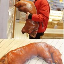 Pig hand pillow simulation pig's hoof cushion sauce pork elbow funny creative birthday gift toy