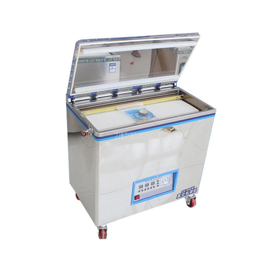 1140W Double Plastic Sealing Machine Large Semi-auto Food Vacuum Packaging Machine Plastic Bag Sealer Max Length 66cm 220V/110V