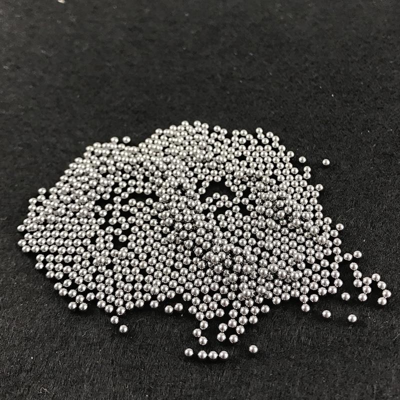 Hot sale 500pcs/lot Diameter 2mm Outdoor Hunting Bow Slingshot Pinball High-carbon Ammo Mini Shot Steel Balls Yernea