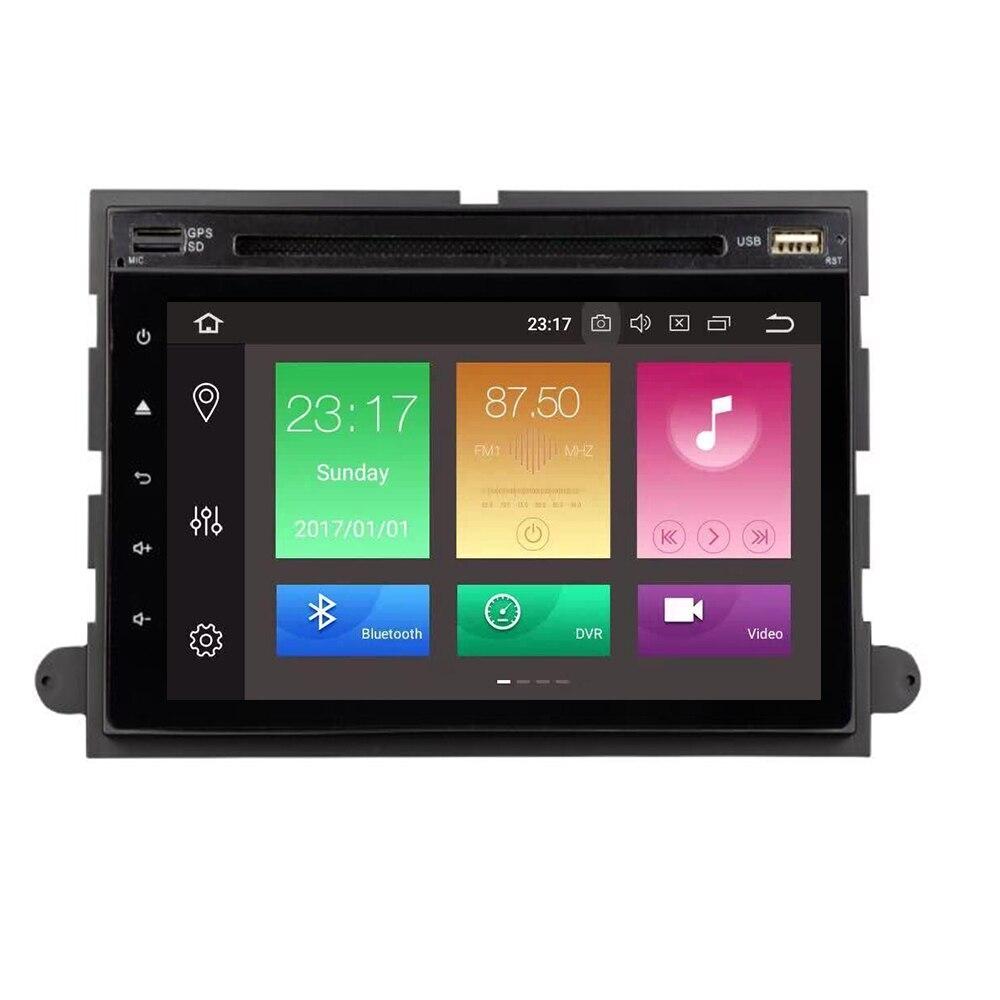 Octa núcleo android 10 áudio do carro dvd estéreo para ford f150 fusion explorer f350 foco expedição gps navi 4 + 32g rom rádio estéreo