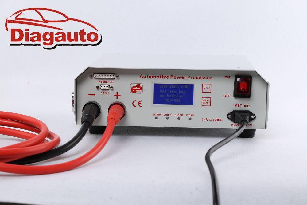 Procesador de energía MST-90 + programación automotriz fuente de carga de batería dedicada para coche