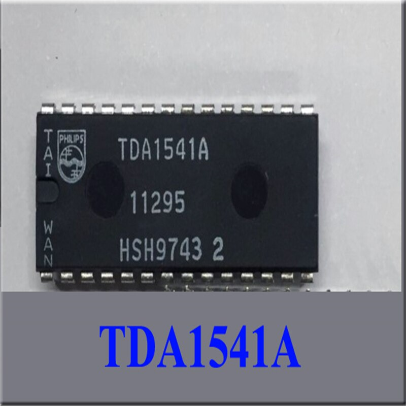 TDA1541A vocal rey DAC chip