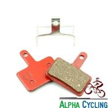 Plaquettes de frein à disque de vélo pour SHIMANO Deore M515, M515-LA, M515-LA-M, M525, Nexave C501, C frein à disque, 1 paire, BB rouge