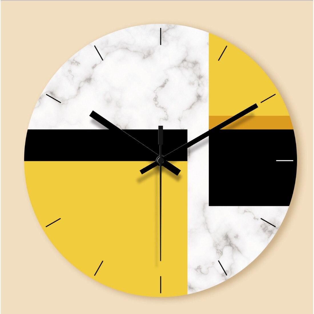 Criativo nórdico abstrato relógio de parede moda relógio de vidro decoração da escola escritório em casa presentes interessantes dropshipping