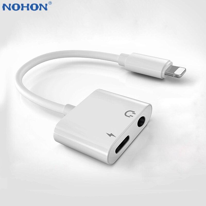 Высокое качество Быстрая зарядка 3,5 мм разъем для наушников аудио сплиттер чейнджер кабель для iPhone X XS Max XR 7 8 Plus разъем провода шнур