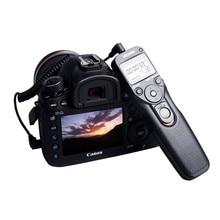 Viltrox MC-C1 Lcd Timer Remote Shutter Release Control Kabel Cord Voor Canon 1500D 1300D 760D 800D 600D 77D 80D 200D m5 M6 Eos R