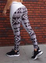 digital printing splicing high waist yoga pants sweat absorbent breathable slim buttock movement leggings Fitness pants women