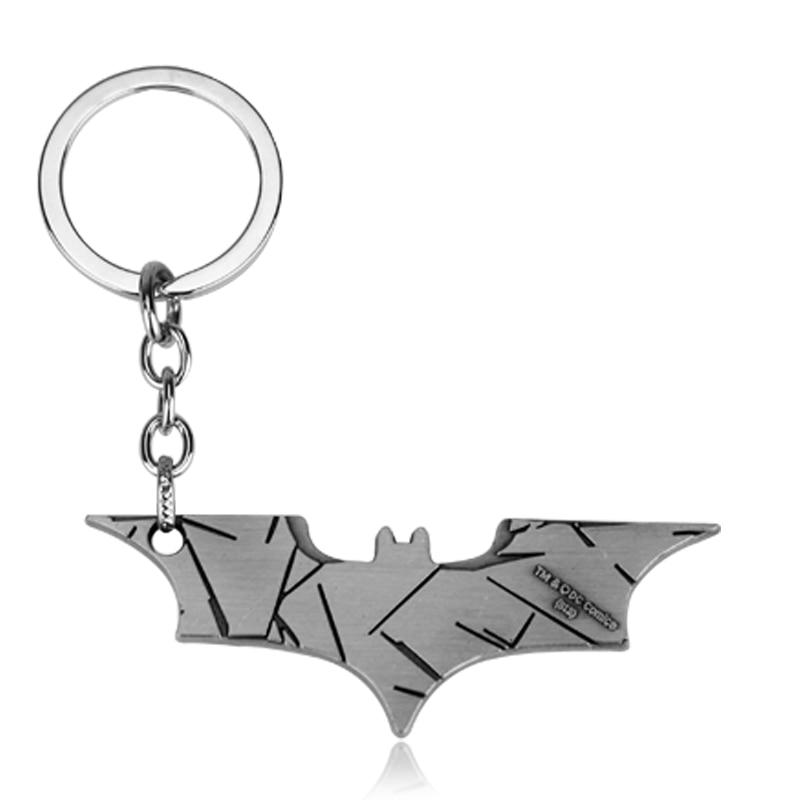 2018 nouveau métal Batman porte-clés cadeaux pour hommes porte-clés créatif porte-clés porte-clés porte-clés pour clés un cadeau pour noël