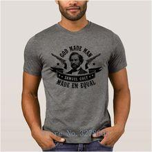 Gott Gemacht Mann Samuel Colt Made Em Gleich T Shirts Für männer Kühle Grafik T-Shirt Frühling Euro Größe S-3xl Unisex männer T hemd