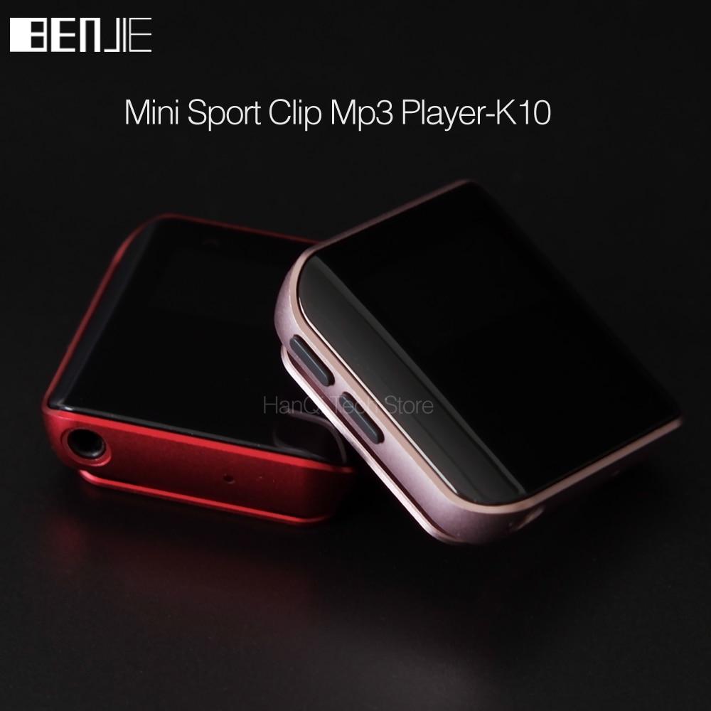 Новый оригинальный MP3 плеер Benjie K10, портативный мини-mp3-плеер с клипсой 8 ГБ, спортивный MP3 музыкальный плеер, высококачественный звук, плеер без потерь с FM