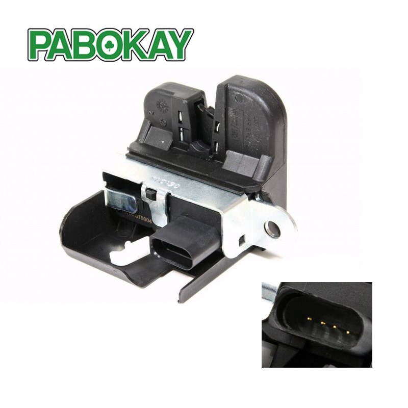 Cerradura trasera para Seat Leon 1P para maletero trasero 1P0827505A 1P0827505B 1P0827505C 1P0827505D 5K0827505A