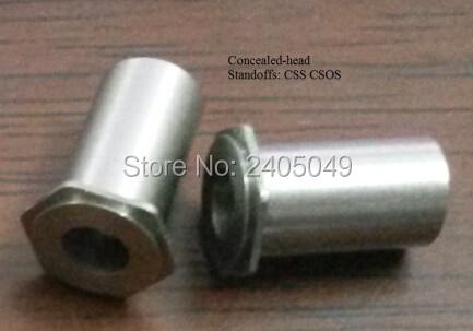 CSOS-M6-10 أخفى-رئيس مواجهات الفولاذ المقاوم للصدأ الطبيعة بيم القياسية في الأسهم المحرز في الصين