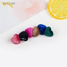 XT97-broche magnétique pour couvre-chef   clips hijab, bouton coeur amour, 12 pièces/lot