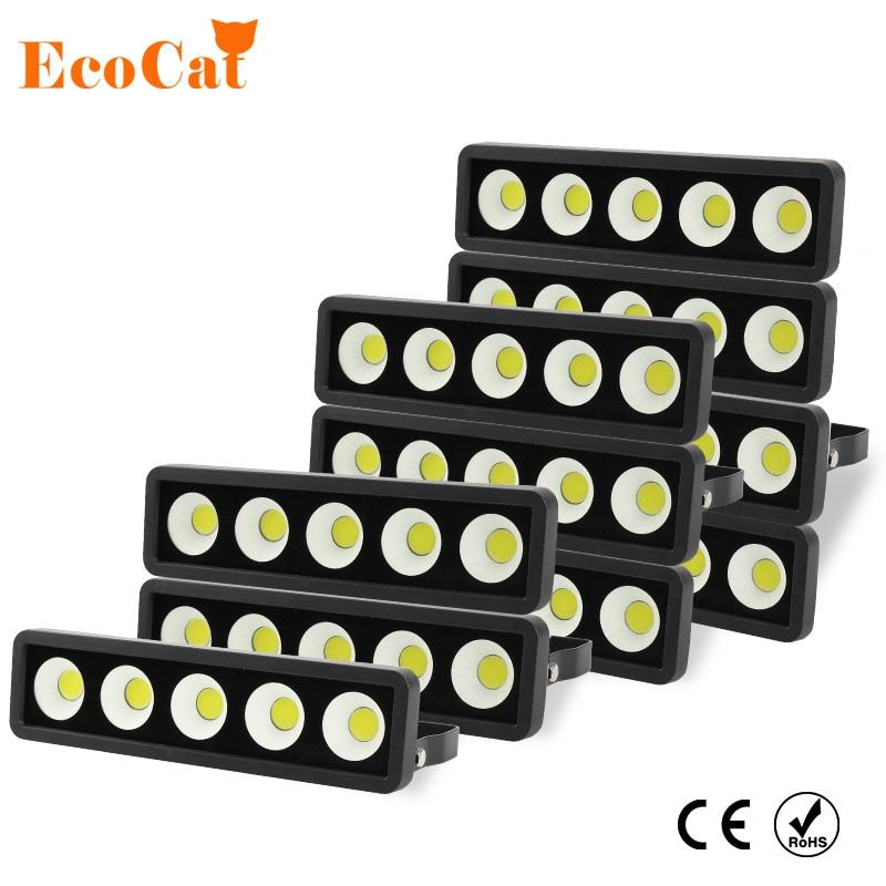 50W 100W 150W 220W luz LED de inundación 220V 230V IP65 proyector impermeable lámpara de pared exterior proyector de jardín