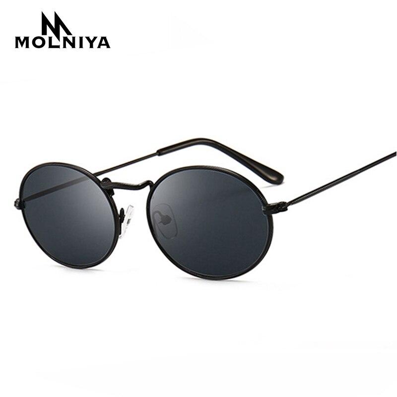 MOLNIYA, bonitas gafas de sol Retro y ovaladas, de famosa marca, dorado pequeño, negro, 2019, gafas de sol Retro Vintage, gafas rojas femeninas