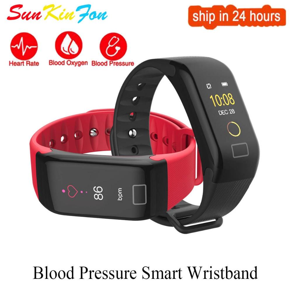 For Xiaomi Redmi 6 PRO 6X 6 6A 5 Plus 5A 4X Sports Smart Wristband Blood Pressure Heart Rate Fitness Tracker Smart Bracelet Band