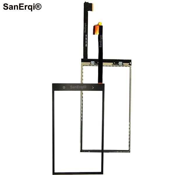 SanErqi 10 шт. 4,7 Сенсорная панель Сенсорный экран для HTC One M7 сенсорный экран дигитайзер передний стеклянный датчик