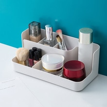 Plastic Makeup Storage Box Cosmetic Organizer Case Lipstick Cases Sundries Case Small Objects Box Wholesale Desktop Organizer
