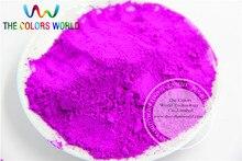 TCFG-660 couleurs néon violet poudre de Pigment néon Fluorescent pour vernis à ongles et peinture et impression 1 lot = 50g
