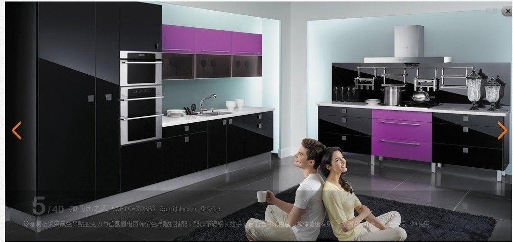 Armário de Cozinha Da laca (LH-LA013)