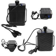 Étanche 2x 26650/8.4V 3x 18650/26650/12V batterie boîte de stockage Mobile batterie externe boîte de stockage USB chargeur pour Smartphone