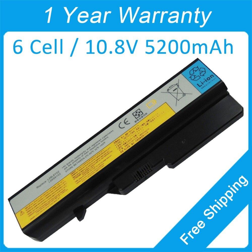 5200 mah batería del ordenador portátil 121000939 121001089 para lenovo G560 G470 B580 G460 G470 B480 B485 B570 B475 B470 G770 B575