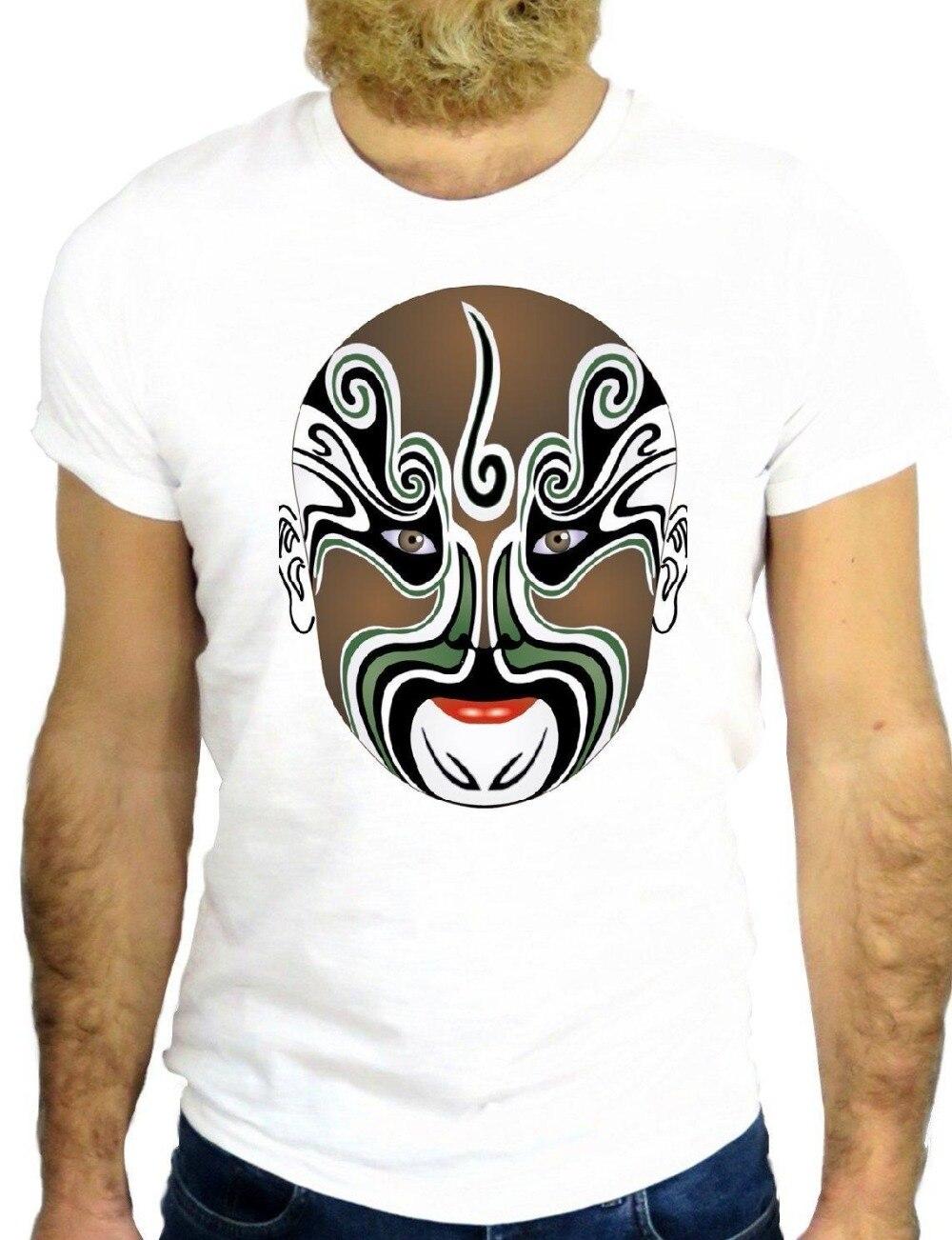 Nueva llegada Camiseta estilo de verano de los hombres de la moda T camisas máscara hacer hombre payaso divertido Cool moda agradable divertido T camisas para hombres