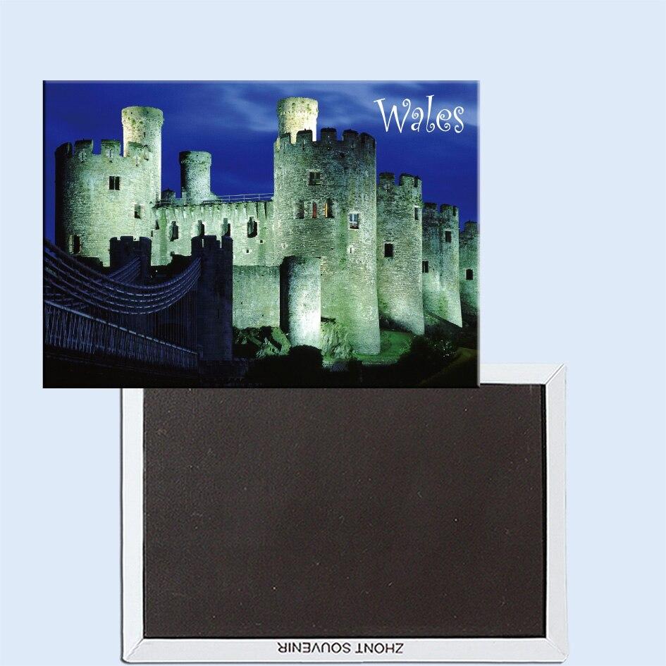Conwy Castle, Gwynedd, pays de galles, royaume-uni 24614 aimant pour réfrigérateur
