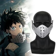 Anime mon héros académique izuku midoriya Cosplay masque PVC Boku pas de héros académique EVA midoriya izuku masques Prop Anime Fans cadeau