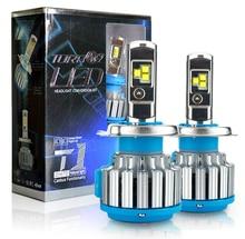 2 PIÈCES T1 Série 70W 8000LM 6000K H4 H1 H3 Turbo LED Voiture Phare H7 H11 880/881 9005 HB3 9006 HB4 9007 HB5 Ampoule