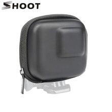 Ateş GoPro Hero için 8 7 6 5 siyah Mini EVA koruyucu saklama kutusu çanta kutusu dağı git Pro kahraman 8 7 5 siyah gümüş aksesuarlar