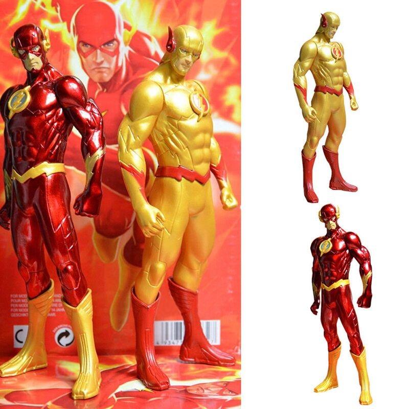 18 см DC Новая Лига Справедливости JLA супергерой флэш Барри Аллен ПВХ Аниме Фигурка Супермен Модель Коллекционная игрушка подарок