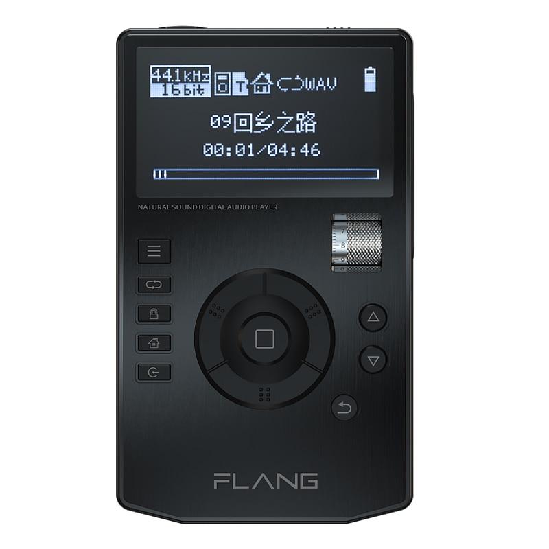 FLANG V5 HiFi музыкальный плеер с высоким разрешением цифровой аудио плеер без потерь с 2,4-дюймовым oled-экраном с док-станцией поддерживает sd-карту...