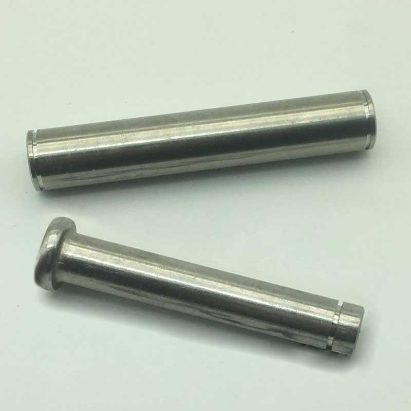 5 uds M5-M6 clavijas de fijación de cola de enchufe clavijas columna ranurada espiga de Pasador cilíndrico acero inoxidable 304 12mm-45mm de longitud
