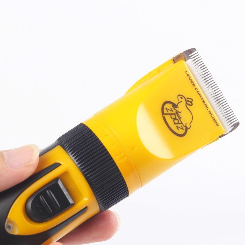 Clipper Hund Pet 110 V-240 V Elektrische Trimmer 35W Qualität Salon Katze Maschine Clipper Haar Professionelle tiere Schneider