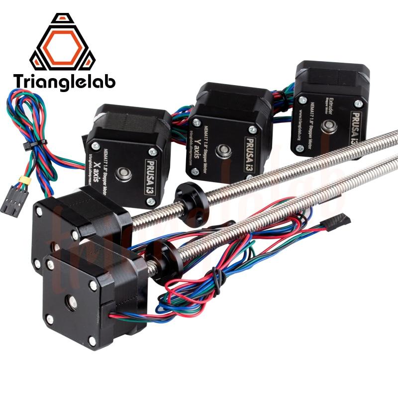Trianglelab جميع معدات موتور جميع المحركات حلول Nema17 Leadscrew محرك سائر ل 3D الطباعة prusa i3 MK3 MK3s الدب