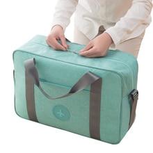 High Capacity Waterproof Oxford Travel Totes Men Women Unisex Portable Luggage Weekend Travel Bag