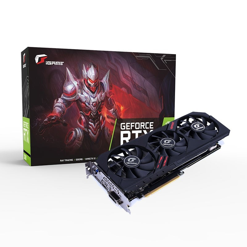 COLORFUL NVIDIA GeForce RTX 2060 iGame Ultra Gaming Video Card Graphics Card 6GB GDDR6 192Bit DP+HDM