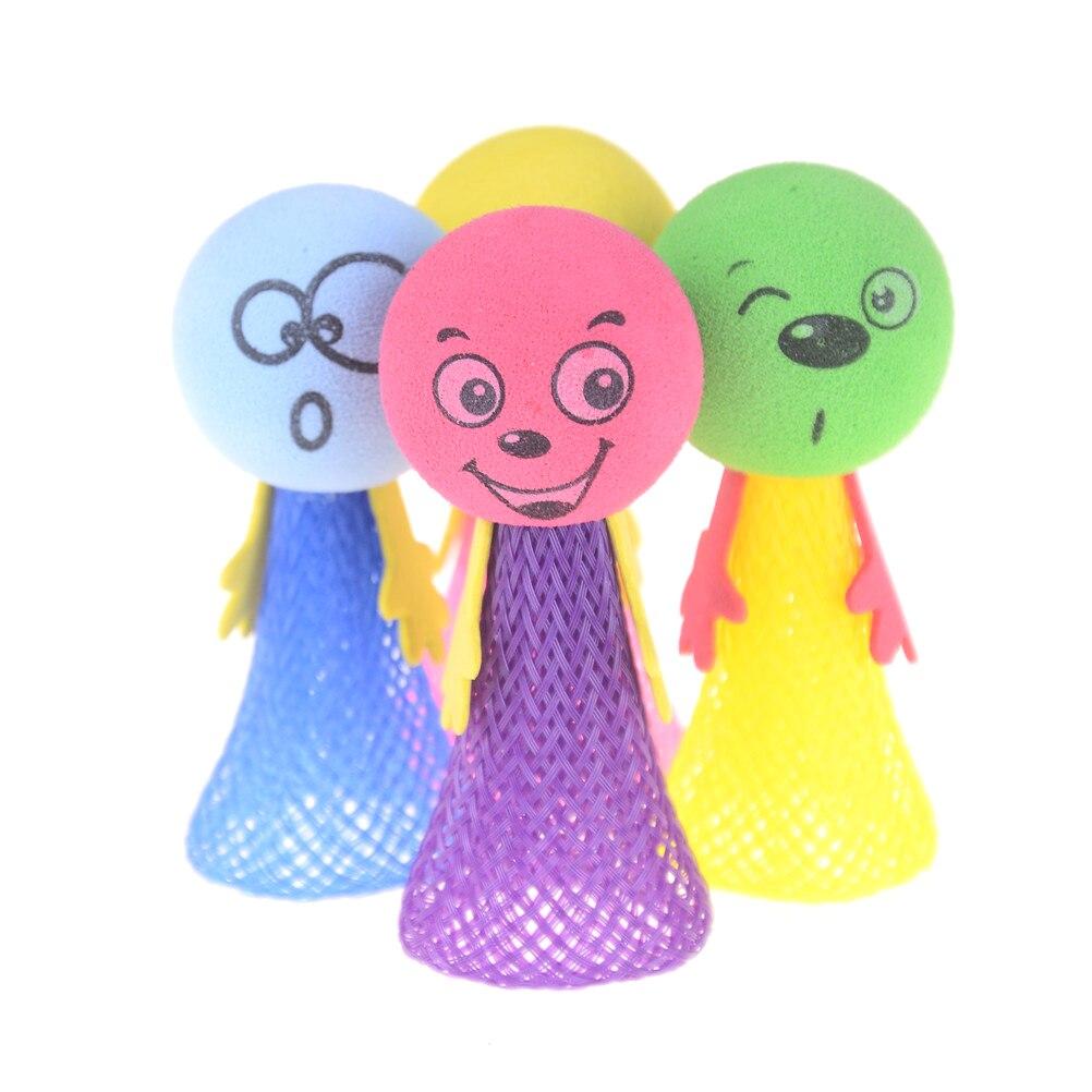 2pcs/set Creative Elf Jump Fly Random Children Kids Baby Educational Bounce Doll Toy
