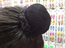 Beautiful Bun Cover Snood Women Hair Net Ballet Dance Skating Crochet Fanchon Rhinestone Styling Headwear Accessories