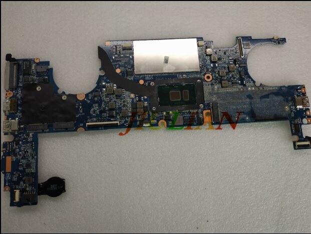 Placa-mae para 844417-001 para HP EliteBook 1040 G3 Placa base de computadora portátil W/I7-6600U CPU 844417-601 DA0Y0FMBAJ1 8GB prueba