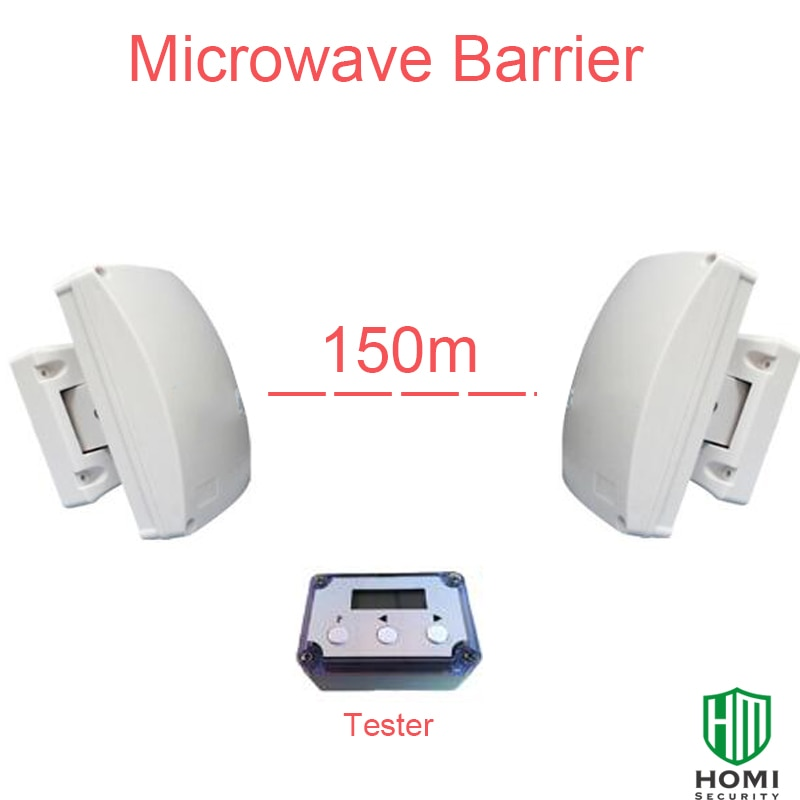 Focus MCB-150 Outdoor 150m Microwave Beam Weather & Attack-Proof Garden Wall Farm Microwave Barrier