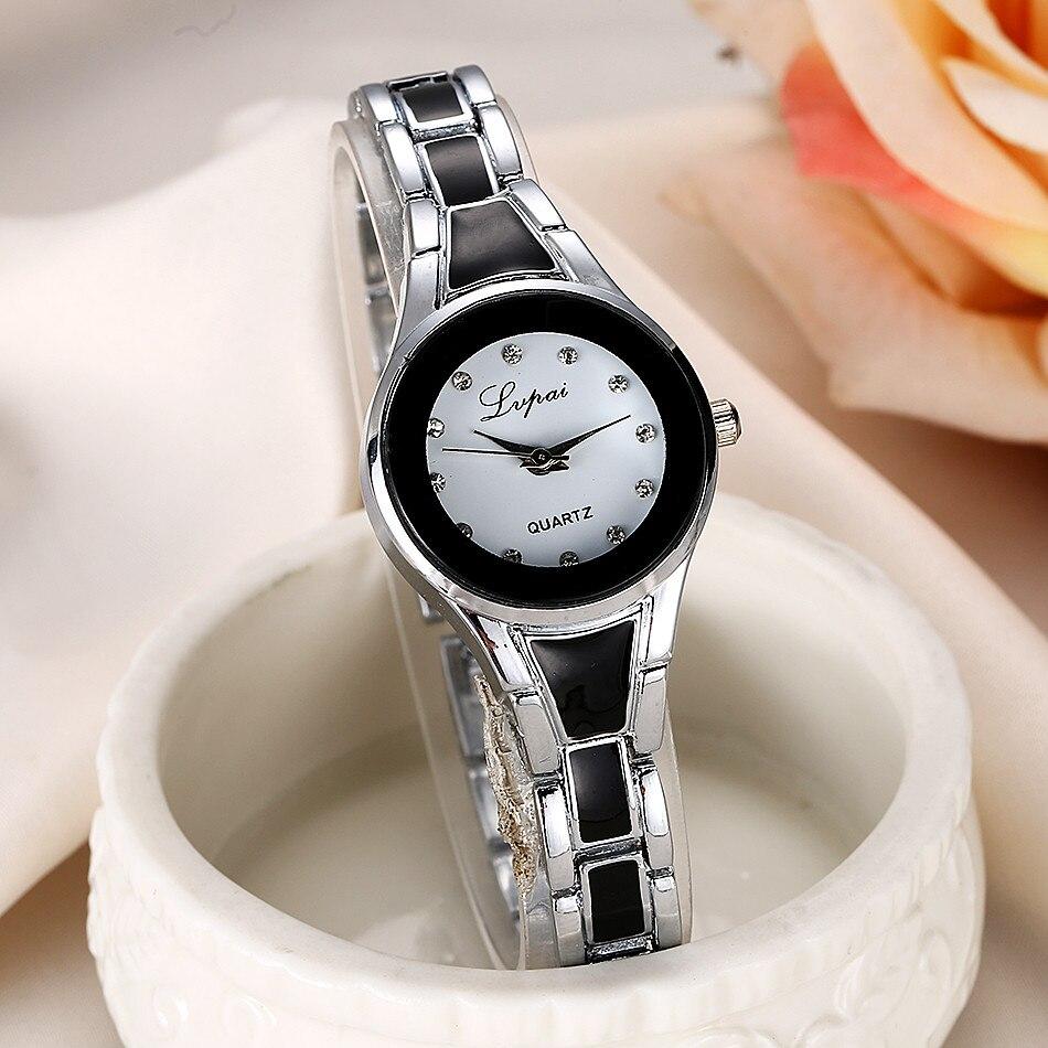 Lvpai, reloj De cuarzo informal para mujer, reloj De lujo para mujer, reloj De pulsera para mujer, regalo para mujer Q