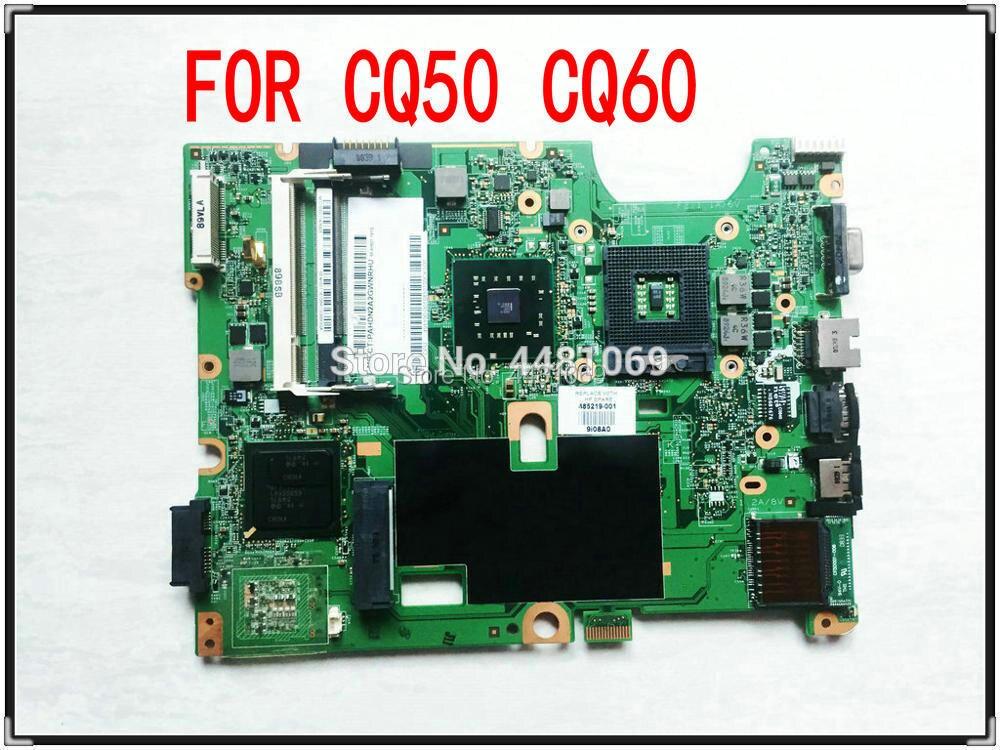 ل HP G50 G60 CQ50 CQ60 سلسلة 485219-001 اللوحة المحمول 48.4H501.021 ل إنتل GL40 4500MHD DDR2 الأم مجلس